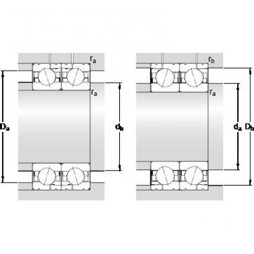 SKF 7017 CD/P4AL High precision angular contact ball bearings