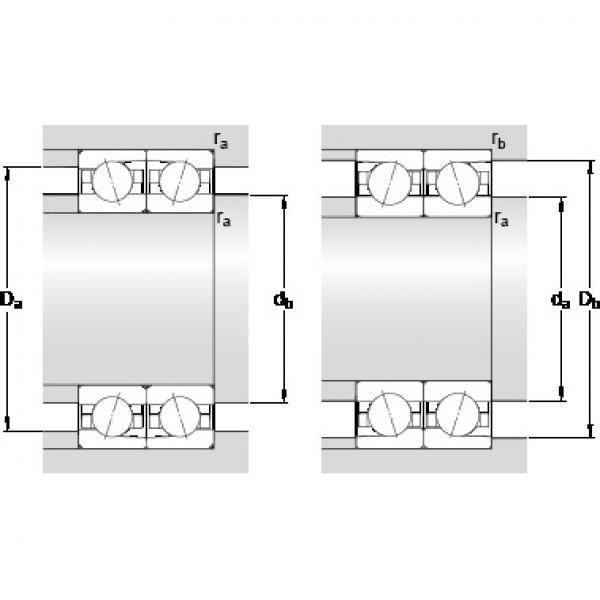 SKF 7006 ACDTP/HCP4B Precision Ball Bearings #2 image