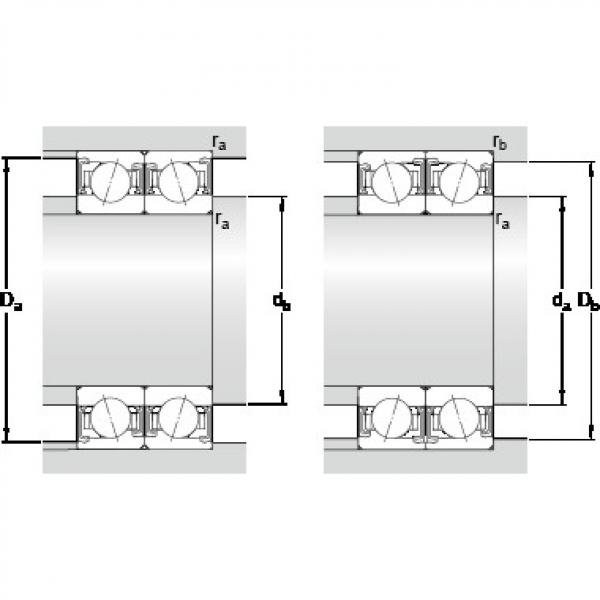 SKF S7018 ACDTP/P4B PRECISION BALL BEARINGS #2 image