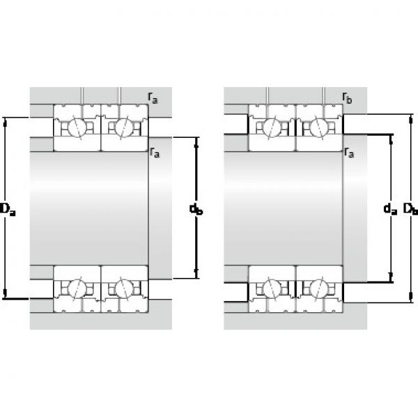 SKF 71913 ACB/HCP4AL PRECISION BALL BEARINGS #2 image